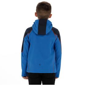 Regatta Acidity II Jacket Kids Skydiver Blue/Navy Reflective/Amber Glow
